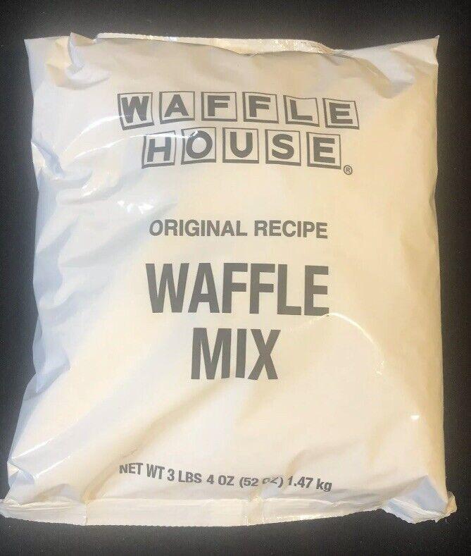 WAFFLE HOUSE Original Recipe Waffle Mix 3 LB 4 OZ Waffle Batter Expire 07/23/21