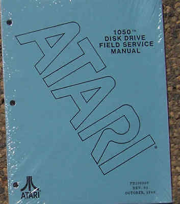 Field Service Manual for Atari 1050 Disk Drive New