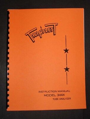 Triplett Tube Tester 3444 Manual