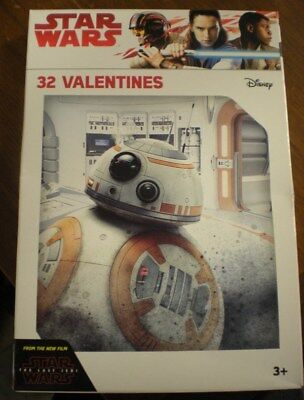 Star Wars The Last Jedi - Valentines Day Cards 8 Different Designs - 32 - Star Wars Valentines Cards