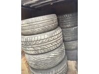 Job lot of tyres all great tread