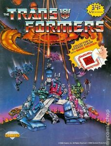 "1986 Diamond ""The Transformers Book"" stickers"