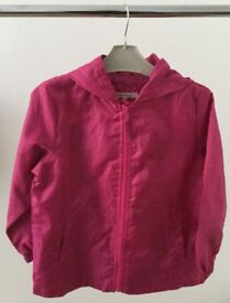 John Lewis 'girl' lightweight packaway jacket, with hood. For 6 years.