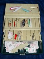 2-  FISHING TACKLE BOXES with tackle