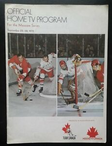 1972 Summit Series Home TV Program - Rare