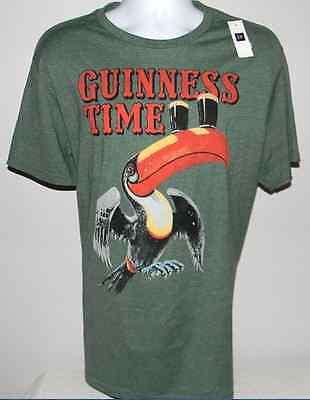 Guinness Beer Toucan Shirt Gap Authentic Collection Mens  Xs S M L  Xl  New
