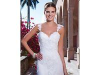 Sweetheart Lace & Tulle Wedding Dress 8-10