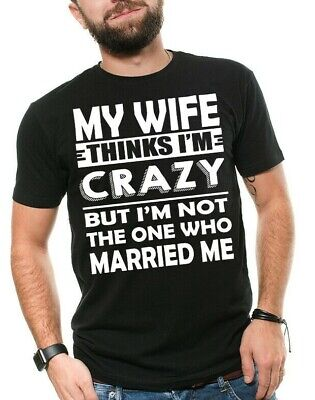 Mens Funny T-shirt Gift For Husband Birthday Gift for Hubby Anniversary T shirt