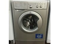 21 Indesit IWC6145s 6kg 1200Spin Silver A Rated Washing Machine 1YEAR WARRANTY FREE DEL N FIT