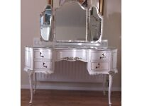 French/Louis shabby chic dressing table