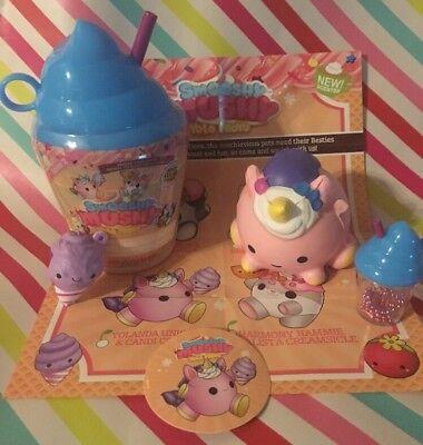 NEW Sealed Unicorn Color Changer Smooshy Mushy Yolo Froyo Series 2 Squishy HTF🦄