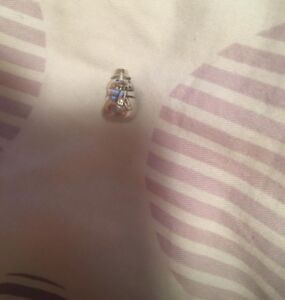 Authentic Silver Snowman Winter Pandora Charm