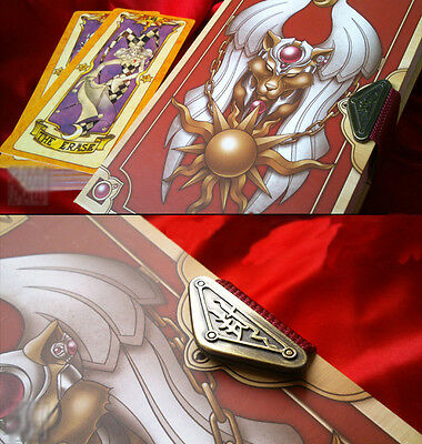 Cardcaptor Sakura Tarot Kinomoto Clow Buch Magic Book Kostüme Cosplay (Kinomoto Sakura Kostüm)