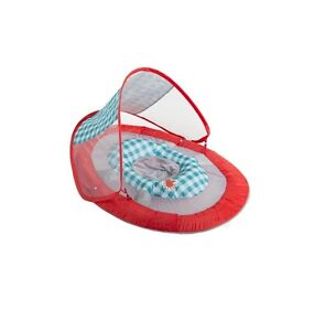 SwimWays Baby Float with Canopy UV protection