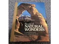 Readers digest book of natural wonders