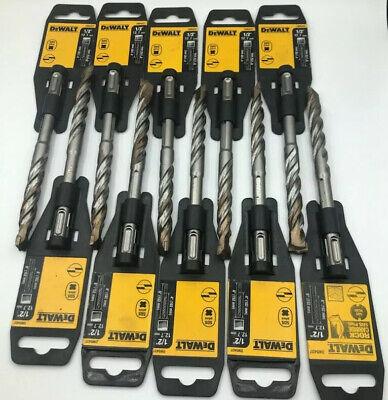 Pack Of 10 Bits Dewalt Dw5437 12 X 6 Masonry Drill Bit Sds Plus