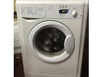 45 Indesit WIE147 6kg 1400Spin White A Rated LCD Washing Machine 1YEAR WARRANTY FREE DEL N FIT
