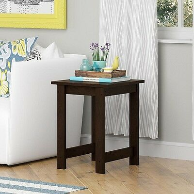 تربيزه جديد End Table Small Living Room Furniture Side Storage Shelf Wood Brown Nightstands