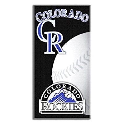 COLORADO ROCKIES BEACH TOWEL MLB BASEBAL TEAM LOGO POOL BATH TOWEL 30