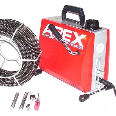 55430 Rohrreinigungsgerät 390W 16mm Spirale Abflussreiniger Rohrreiniger Abfluss