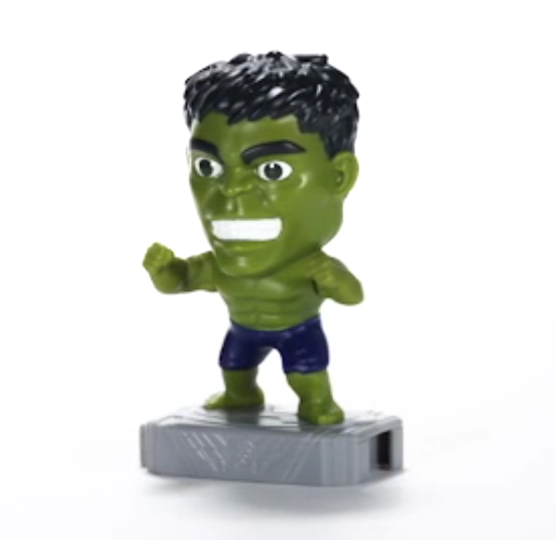 McDonalds 2019 Marvel Avengers Happy Meal Toy - Brand New in Sealed Package #8 Hulk