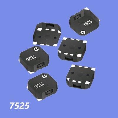 12510pcs 7525 3v5v Electromagnetic Passive Smd Buzzer 80db 2700hz