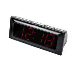 Onn Digital Am/Fm Clock Radio Snooze with Dual Alarms ONA15AV101