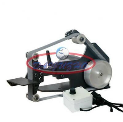 1pcs 220v Mini Belt Sander Bench Grinder Diy Polishing Grinding Machine 7500rpm