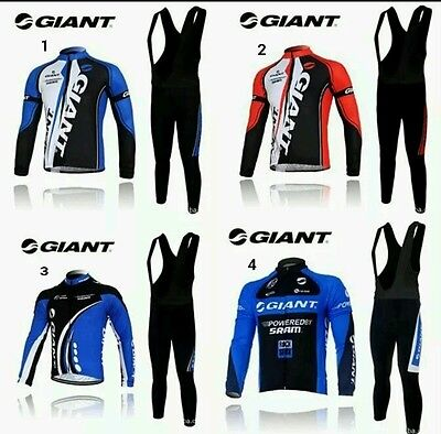 equipacion invierno giant maillot culotte mtb ciclismo triatlon btt