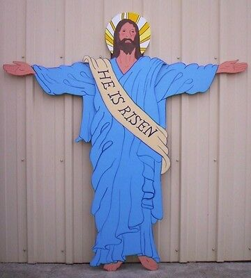 Used, RESURRECTION OF CHRIST (Jesus) * Easter Yard Art Decor. for sale  Shipping to Canada