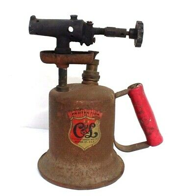 Vintage Antique CLAYTON & LAMBERT MFG CO Buckner KY Gasoline Blow Torch