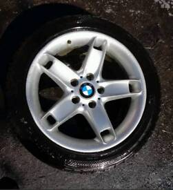 "BMW E39 5 SERIES 17"" ALLOY WHEEL STYLE 49 AND 6MM TYRE"