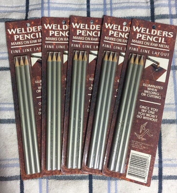 Silver Mine Welders Welding Pencils lot shop supply Qty: 15 (5 packs of 3)New ✌️