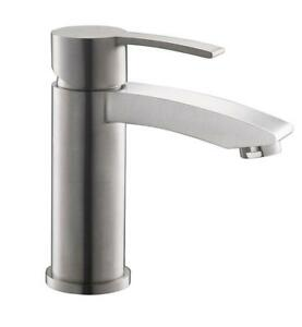 Fresca Livenza Single Hole Bathroom Vanity Faucet in Brushed Nickel NEW ** 5 CORNERS FURNITURE**