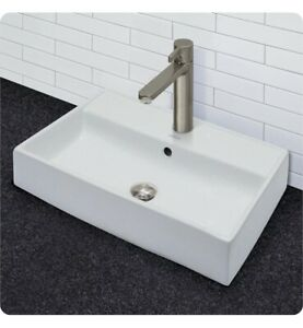 Above Counter Vitreous China Sink