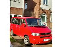 VW T4 2.5 TDI Caravelle. Automatic Ready for camper van conversion. 66,000 miles