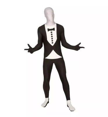 TUXEDO SKINSUIT Men's Adult Halloween Costume Large Living Fiction