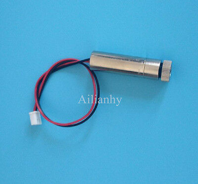 Small Red Dot Laser Generator Diode 650nm Focus Adjustable Laser Head Module 1pc