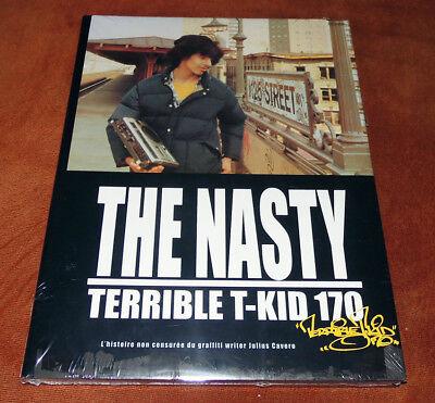 "Graffiti Buch / Magazine ""THE NASTY T-KID"" NYC Montana Molotow Walls Trains Tags"