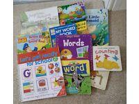 Hard Board Books + paper books