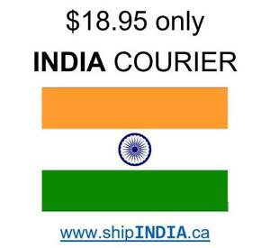 Courier To India - $18.95 only - Scarborough - Service Available To Other International Locations