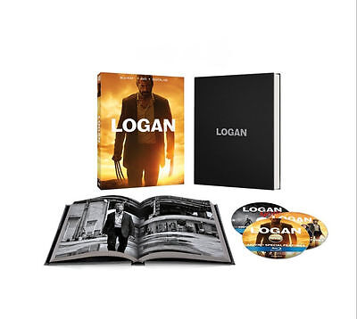 Logan With Exclusive Photo Book Case Blu Ray Dvd  Dig  Target X Men