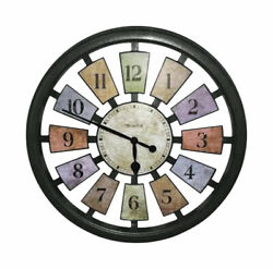 Clock Wall Framed Color Panel, by Westclox, (Westclox 18 Kalediscope Wall Cloc)