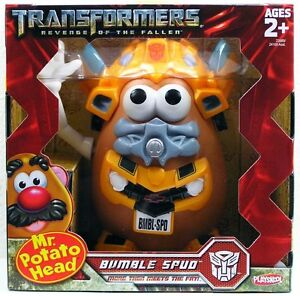 JOUET MR POTATO MONSIEUR PATATE TRANSFORMERS BUMBLE SPUD