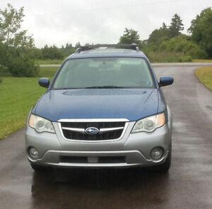 2008 Subaru Outback Silver Wagon