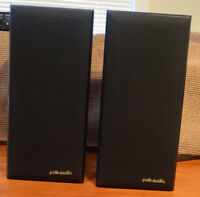 POLK AUDIO Speakers/Fisher Stereo System - Perfect Condition.