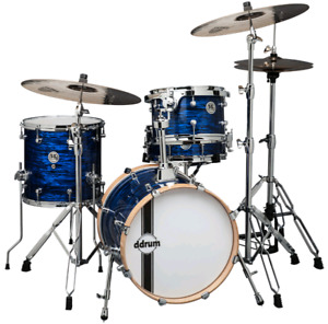 Ddrum SE Flyer pearl blue plus some  hardware.