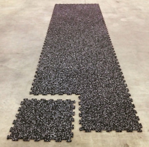 34 interlocking 2x2ft RUBBER tiles for your workshop, gym, etc.