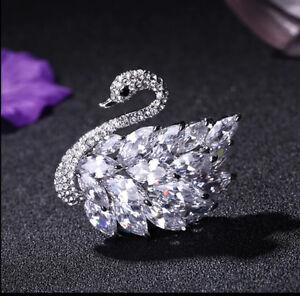 Crystal Sawn brooch