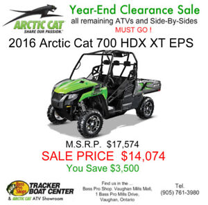 New 2016 Arctic Cat 700 Prowler HDX (Side-by-side)